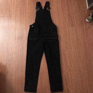 Topshop denim overalls